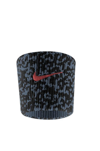 Nike Ace Wristbands (1 Pair, One Size Fits Most, Dark Magnet Grey/Black/Hyper Punch)