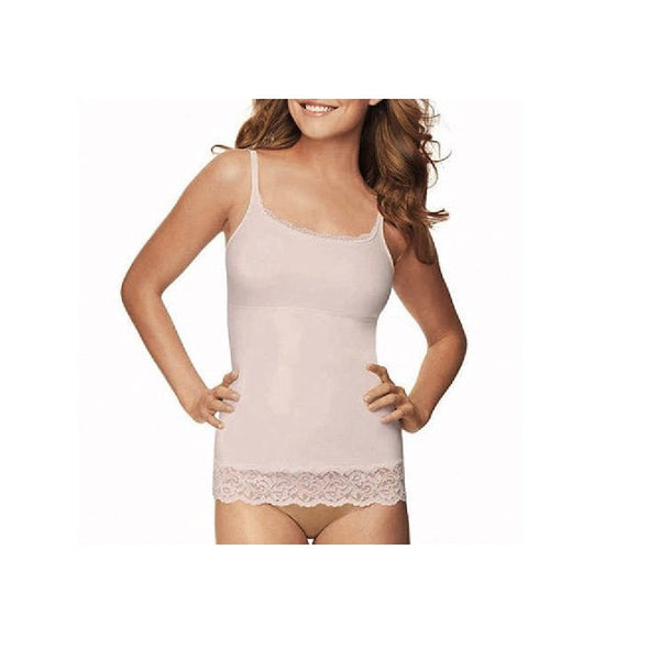 FLEXEES by Maidenform Firm Control Shapewear Lace Trimmed Cami