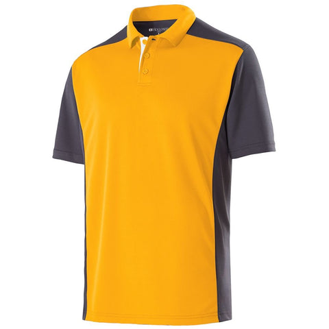 Holloway Adult Polyester Closed-Hole Division Polo