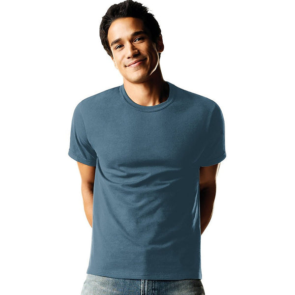 Hanes Men`s TAGLESS® ComfortSoft® Dyed Crewneck T-Shirt