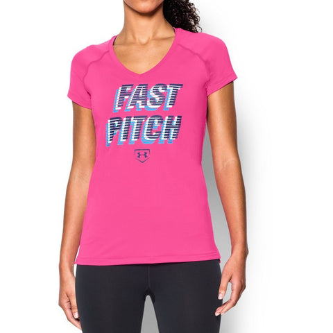Under Armour Women's UA Softball Graphic Short Sleeve