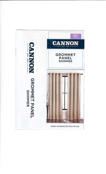 Cannon Grommet Panel Curtain Shimmer