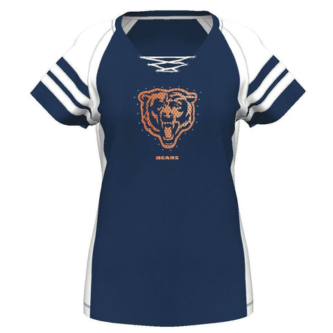 New NFL Misses' Chicago Bears Draft Me Tee Style Number RQ604