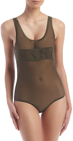 DKNY Women's Runway Collection Bodysuit
