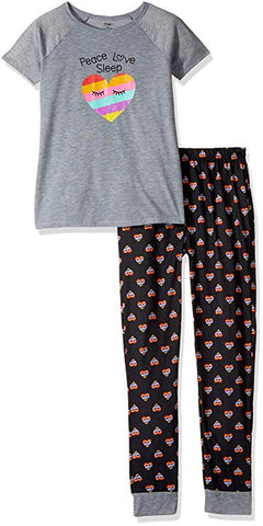 Candie's Girls' Big Tee and Legging Set