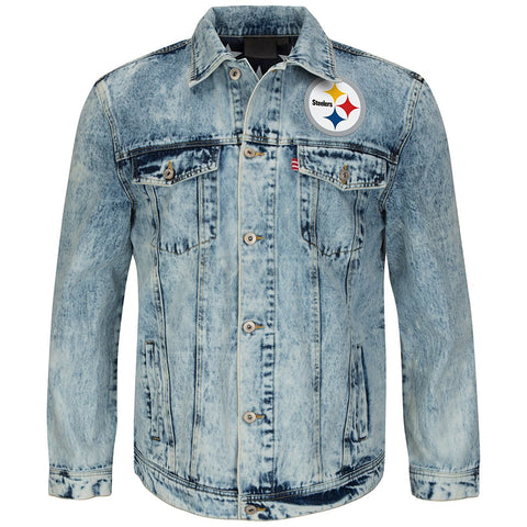 Men's Blue Vintage Denim Jacket Style Number SF963