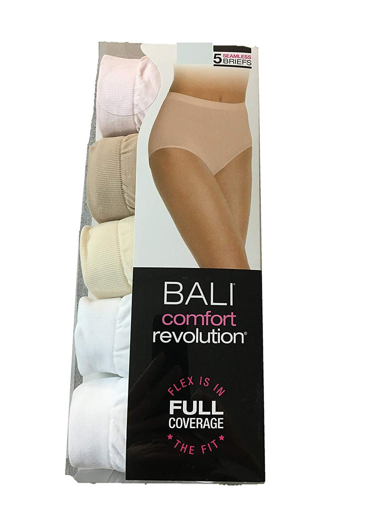 3cfe14bb716 Barely There by Bali Comfort Revolution Microfiber Seamless Brief — 5 –  Atlantic Hosiery