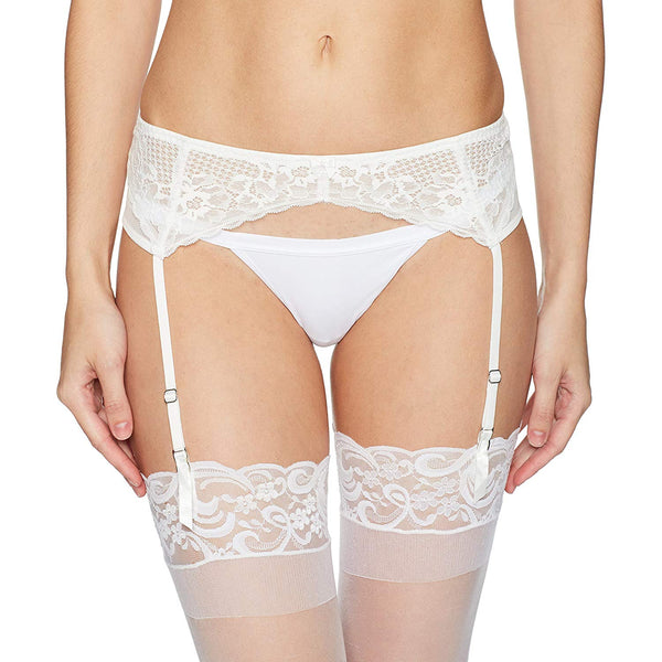 Betsey Johnson Women's Perfectly Sexy Lacey Garter Belt