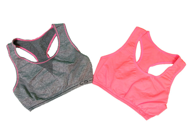 C9 by Champion Girls Racerback Sports Bra 2 Pack