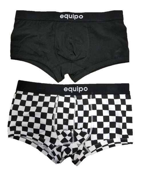 Equipo 2 Pack Men's Trunks Cotton Stretch