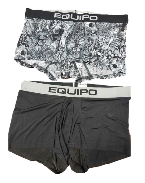 Equipo 2-Pack Men's Trunks Modern Stretch