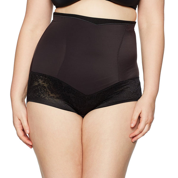 Flexees Women's Maidenform Shapewar Curvy Firm Foundations Hi Waist Brief