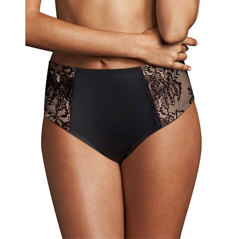 Maidenform Womens Sexy Lace Light Control Thong