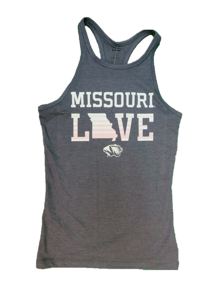 Soffe Athletic Wear Women Tops, Tank Tops - University Of Missouri/Tigers