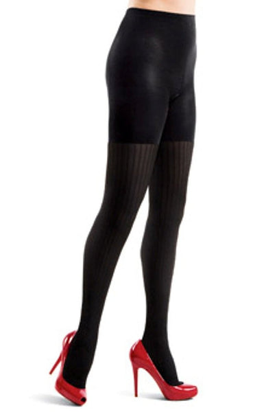 Assets by Sara Blakely Pucker Terrific Textured Tights (354)