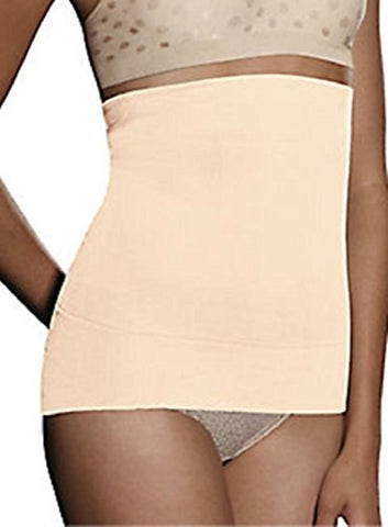 Hanes Whittles Waist Convertible Waist Cincher (Medium, Nude)