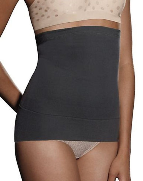 Hanes Whittles Waist Convertible Waist Cincher (Medium, Black)