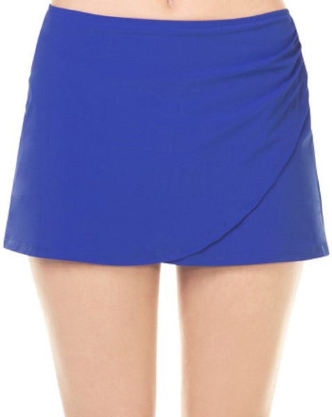Assets By Sara Blakely Glamour Wrap Skirtini #1760 (Small, Blue)
