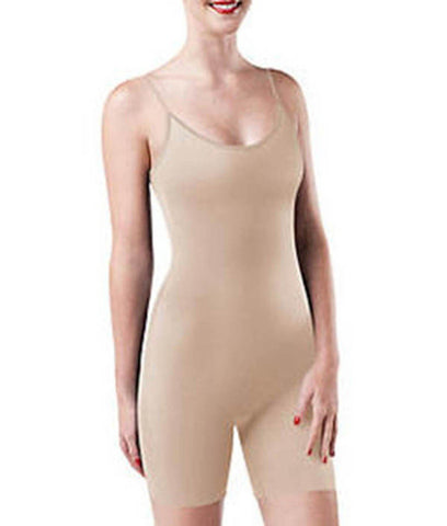 Assets by Sara Blakely Fantastic Firmers Mid-Thigh Bodysuit (812)
