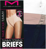 Maidenform Ladies Tummy Toning Briefs 3-Pack Nylon Plain