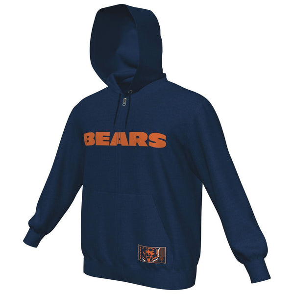 Men's Chicago Bears Big Man Sherpa Hoodie