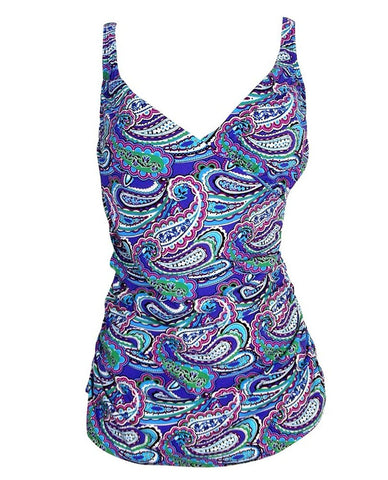 ASSETS Crossover Underwire Swim Suit Tankini Top #1707