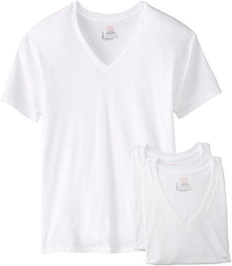 Men's Hanes 3-Pack V-Neck T-Shirt #777