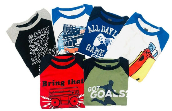 KNIT T SHIRT BOYS CREW NECK LONG SLEEVE STYLE BGA1910L