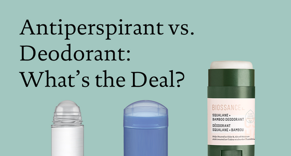 Antiperspirant vs. Deodorant: What's the Deal?