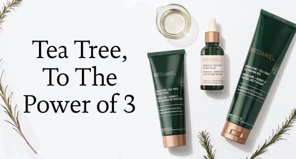 Tea Tree, to the Power of 3