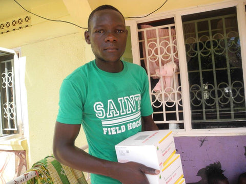 Distributing malaria treatments