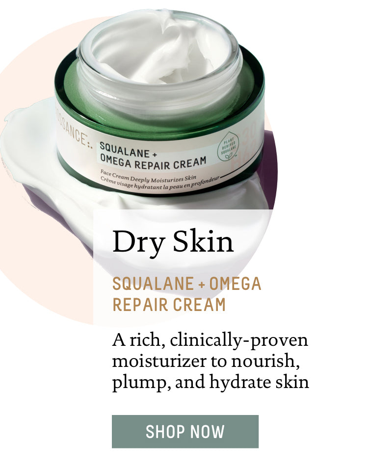 Dry Skin: Squalane + Omega Repair Cream. A rich, clinically-proven moisturizer to nourish, plump, and hydrate skin. Shop Now.