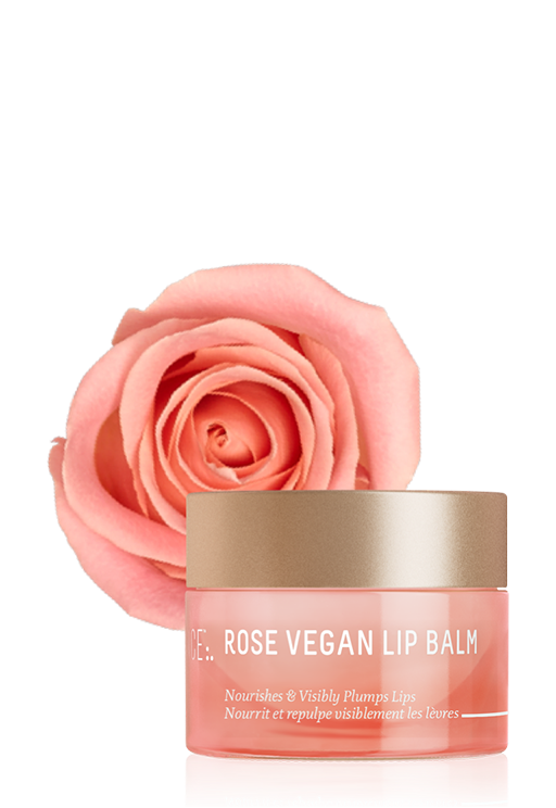 SQUALANE + ROSE VEGAN LIP BALM <span>(full size)</span>