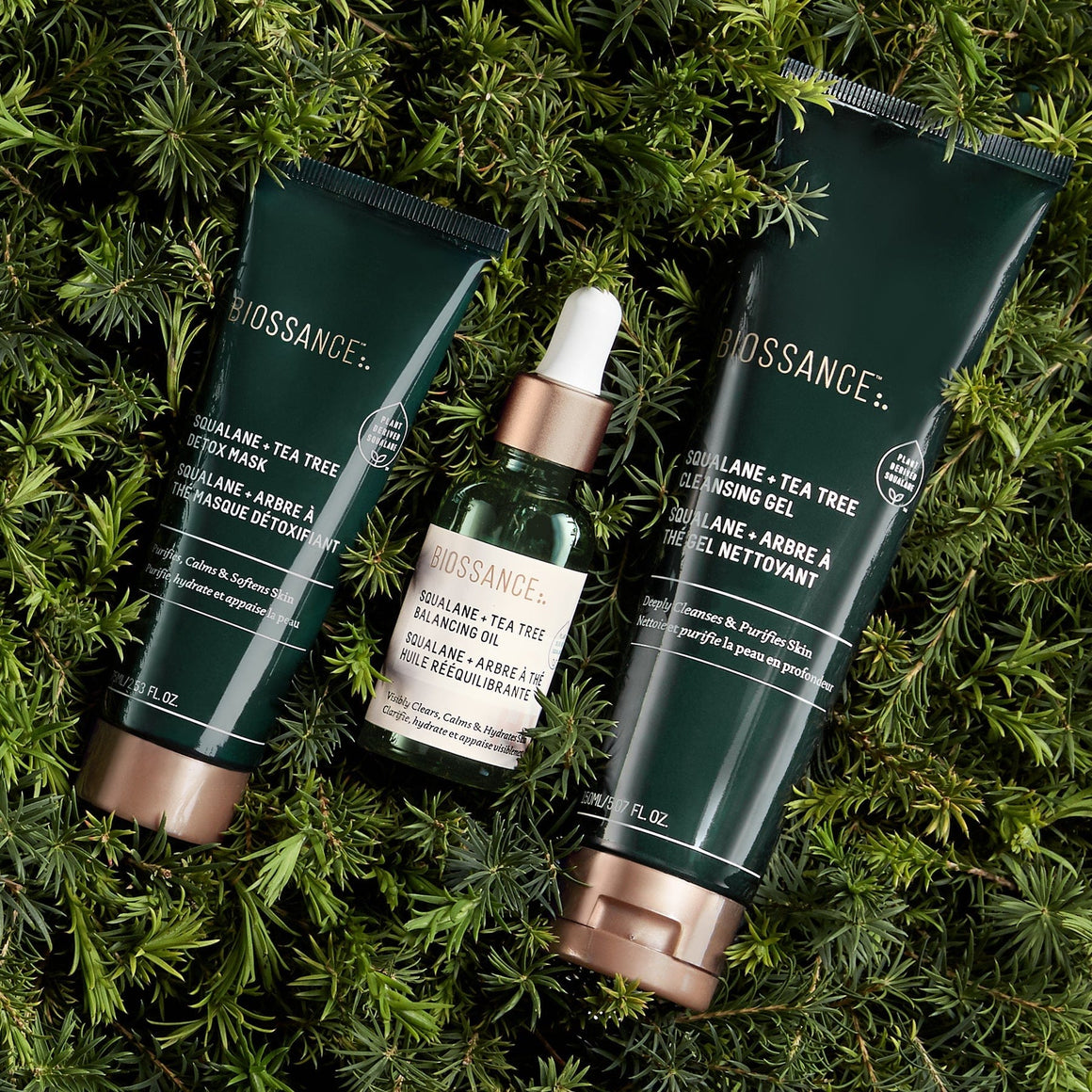 Squalane + Tea Tree Cleansing Gel