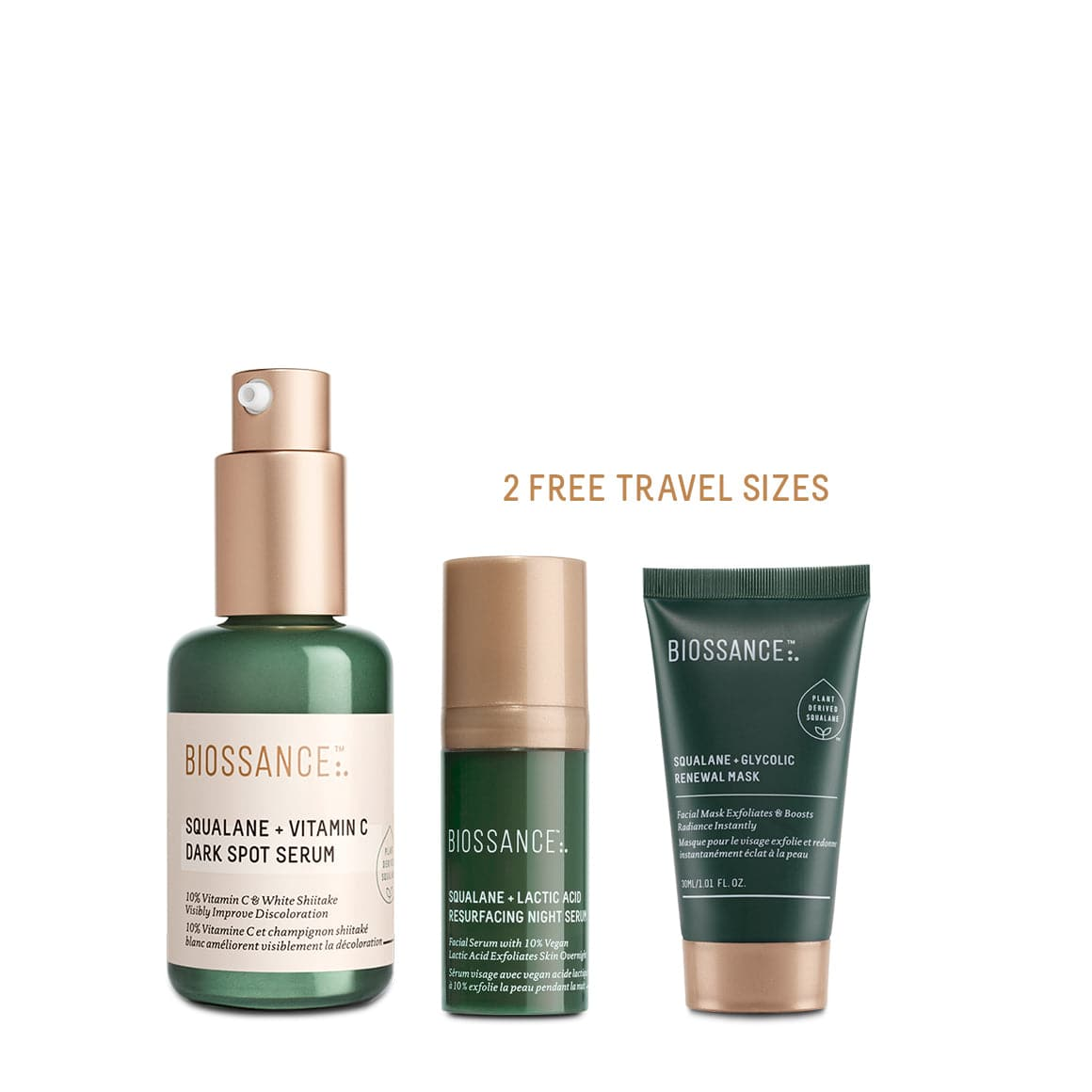 Intense Spot Fading Serum Trio