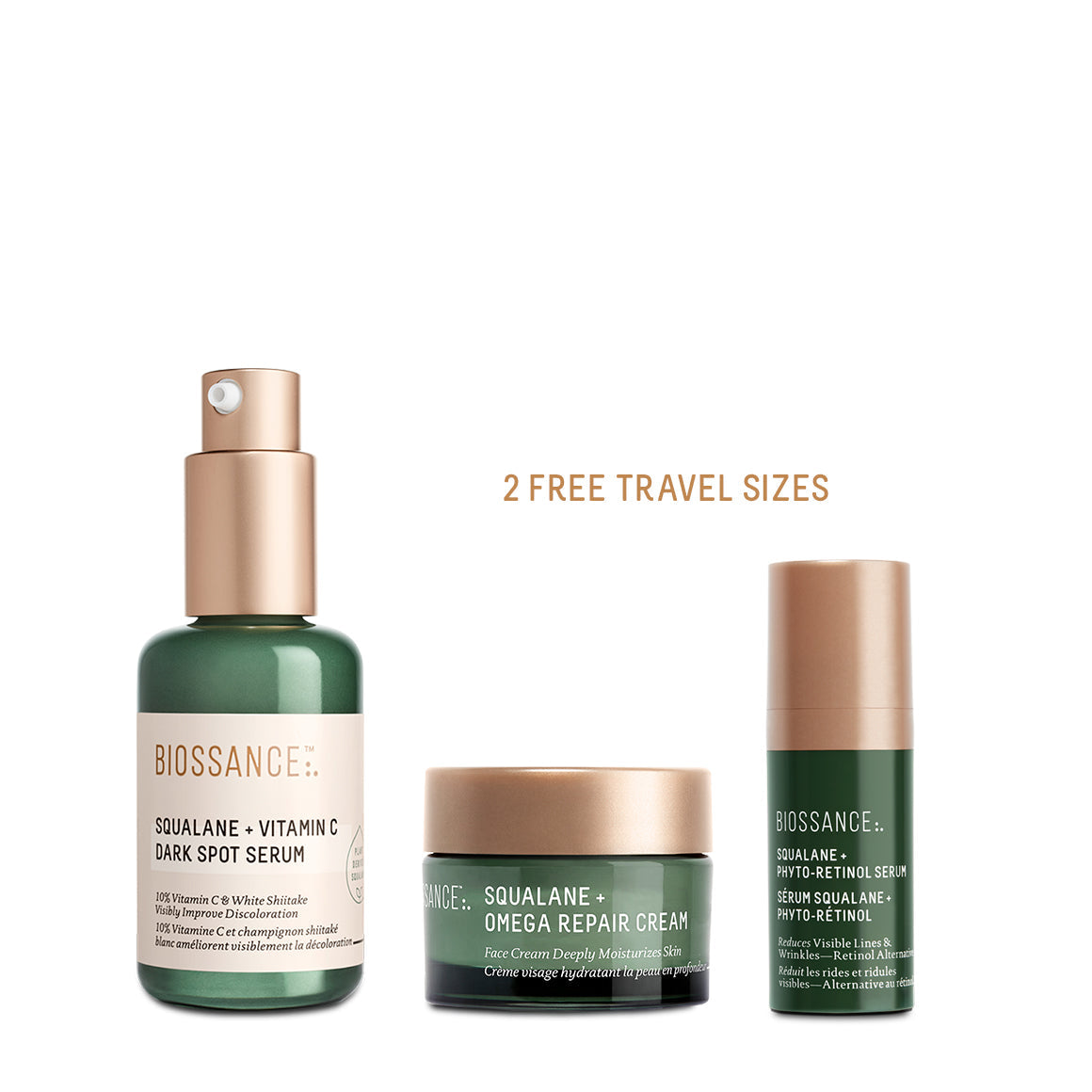 Spot Fading + Age Fighting Serum Trio