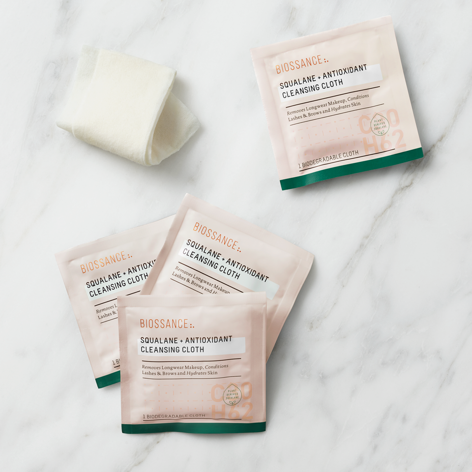 Squalane Antioxidant Cleansing Cloths