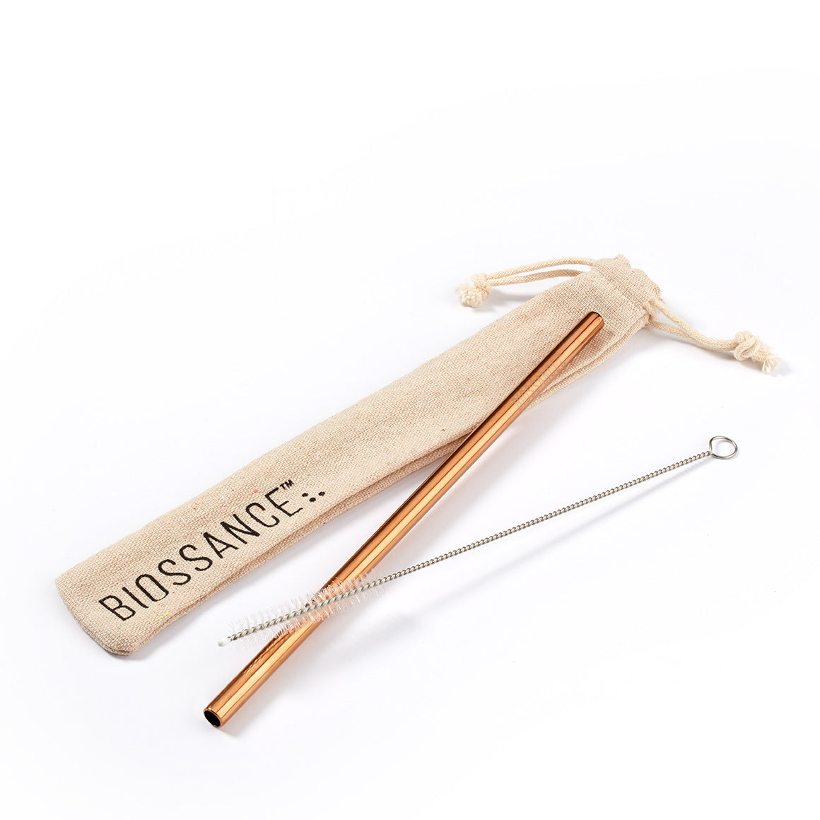 Biossance Stainless Steel Straw Kit
