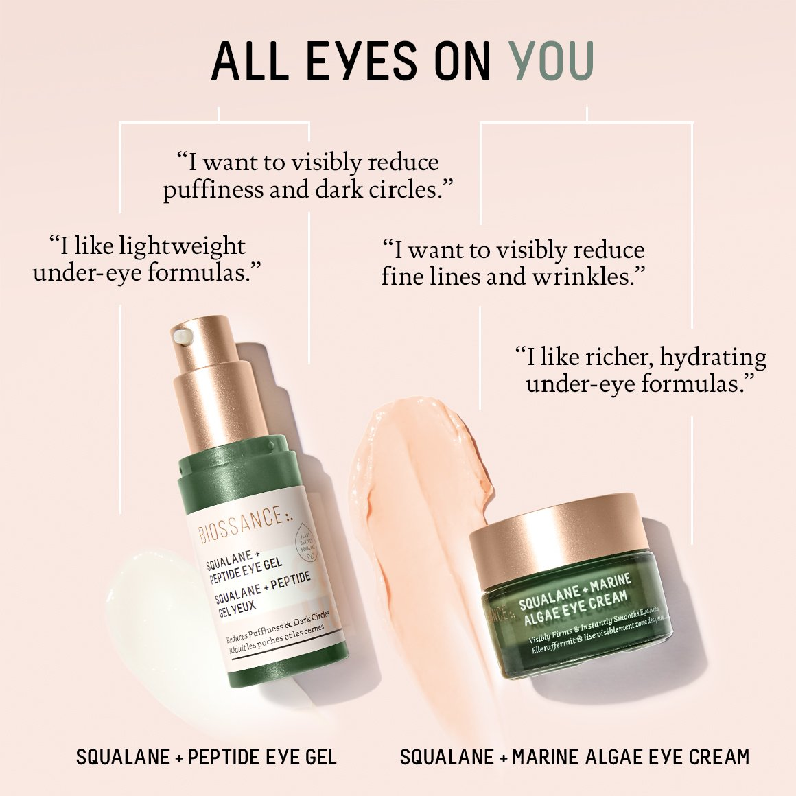 Squalane + Peptide Eye Gel