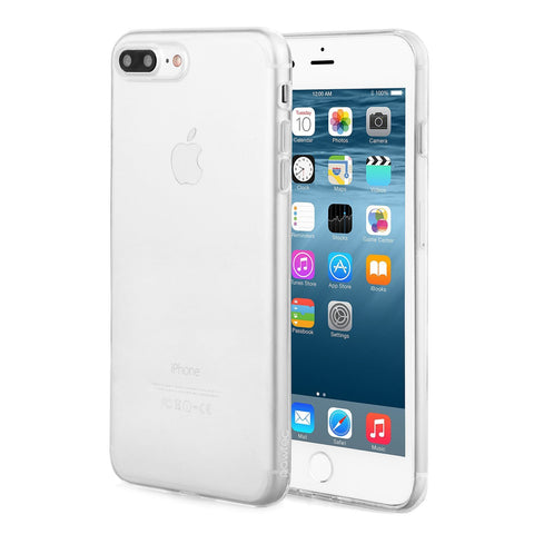 Pawtec Ultra Thin Bubble Free Crystal Clear Protective Case for iPhone 8 Plus / 7 Plus