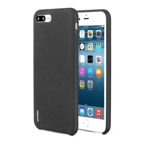 Pawtec Snap-On Silicone Matte Protective Case for iPhone 7 Plus - Black
