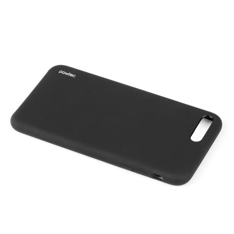 Pawtec Snap-On Silicone Matte Protective Case for iPhone 8 Plus / 7 Plus - Black