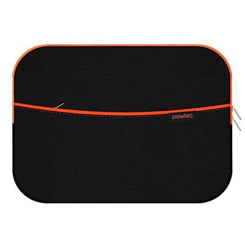 "Pawtec Protective Neoprene Sleeve With Extra Storage Pocket for 13.3"" MacBook"