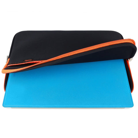 "Pawtec 12"" Surface Pro 4 / Surface Pro 3 Neoprene Protective Storage Sleeve With Extra Storage Pocket for Accessories"