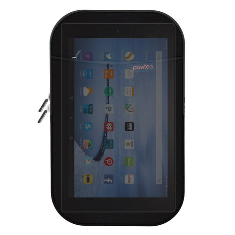 Pawtec Shockproof Neoprene Protective Storage Sleeve With Extra Storage Pocket for Amazon Fire HD 8