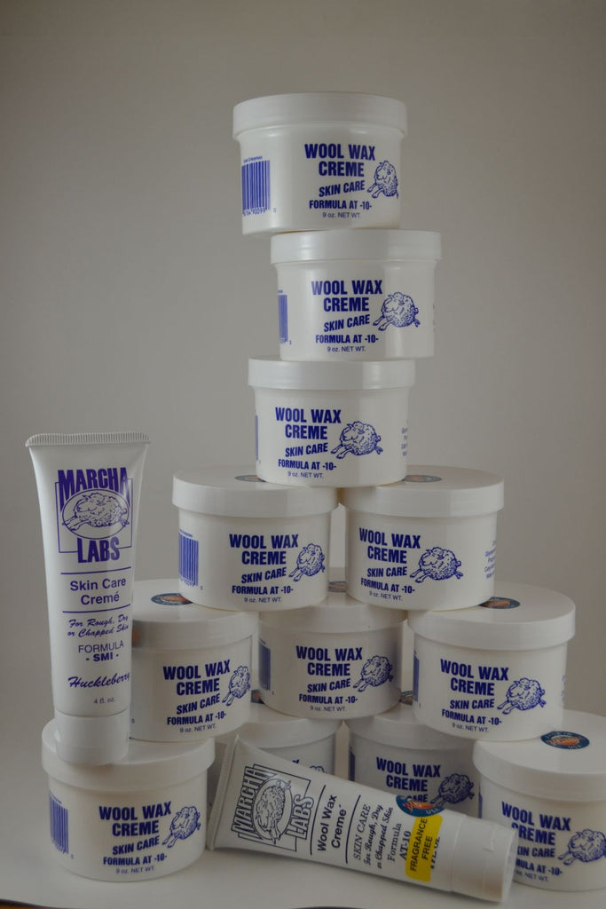 12 Nine ounce jars and 2 squeeze tubes Wool Wax Creme