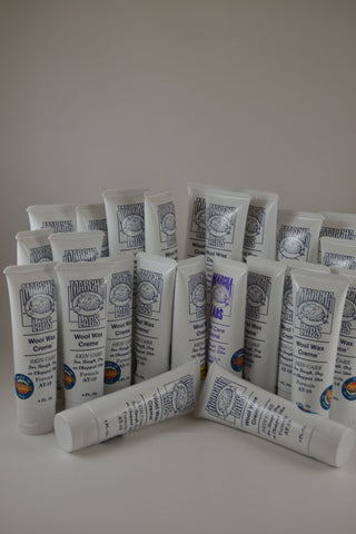 25 Tubes 4 ounce Wool Wax Creme