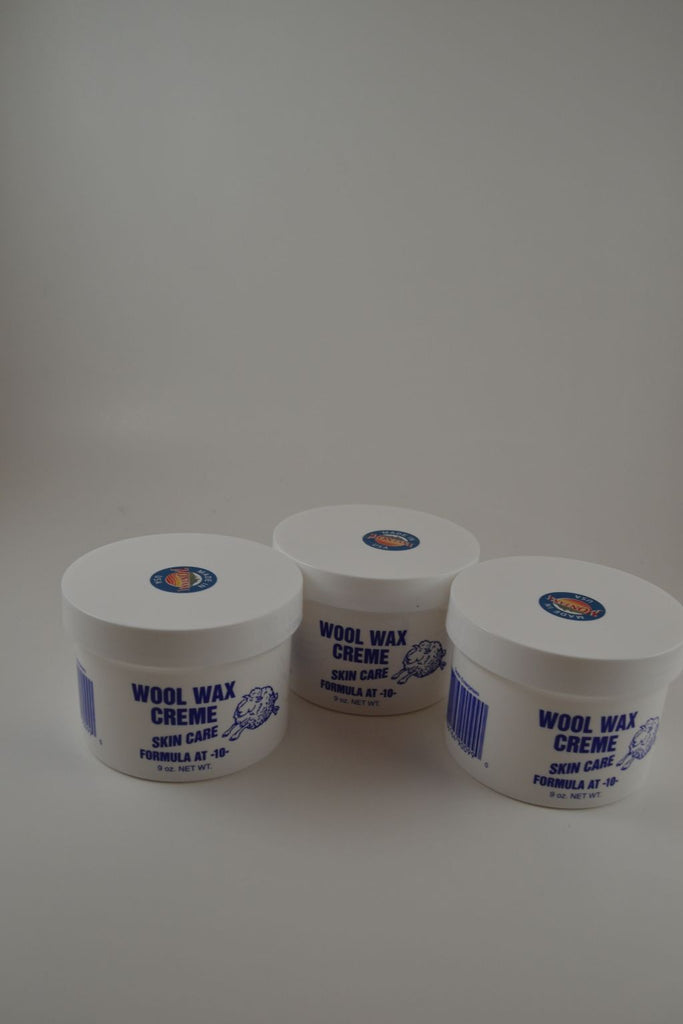 "Three Jars ""Special"" 9 Ounce Wool Wax Creme"