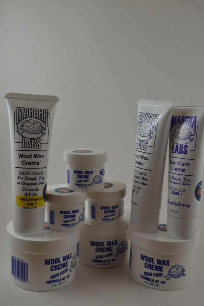 Great Combo: 3 Nine Ounce Jars, 3 Two Ounce Jars and 3 Squeeze Tubes Wool Wax Creme