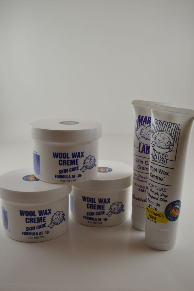 3 Nine ounce jars and 2 Squeeze tubes Wool Wax Creme